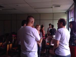 Jornada Pedagógica 2015 - Gamificação 28/01/2015 - Grupo 4 com a participação da Coordenadora de Língua Inglesa, Jacqueline Cabrerizo, participando
