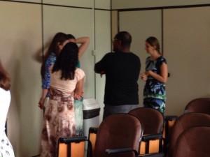 """Jornada Pedagógica 2015 - Gamificação 28/01/2015  - Grupo 3 participando do """"I have never..."""""""