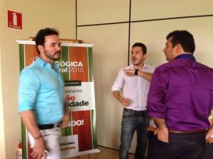 Jornada Pedagógica 2015 - Gamificação 28/01/2015 - Presença dos Diretores do Instituto Travessia de Recife: Armando Júnior e Jopson Albuquerque